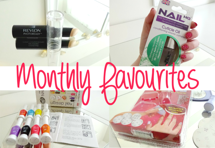Monthly Favourites April
