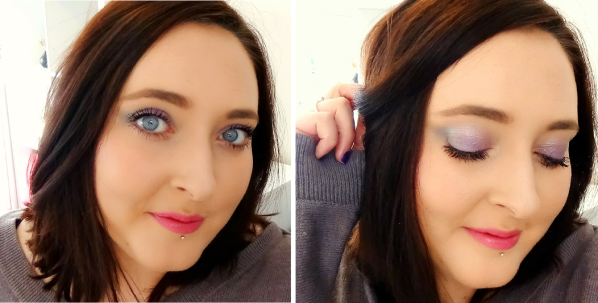 The Makeup Menu First Impressions Finished look