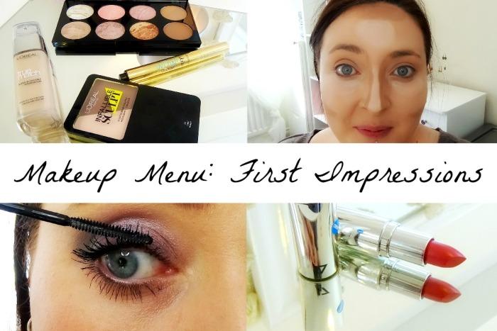 The Makeup Menu First Impressions