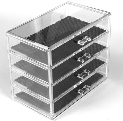 4 Drawer Acrylic Storage