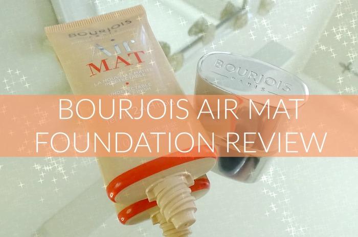 Bourjois Air Mat Foundation Review