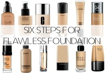 Flawless Foundation Steps