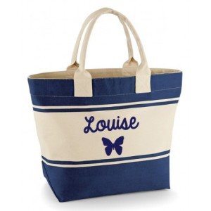 ladies-personalised-butterfly-beach-bag
