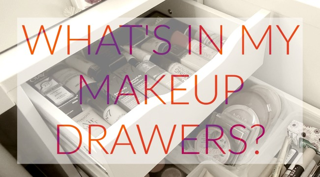 Whats In My Makeup Drawers Foundation