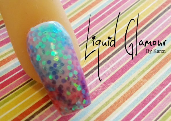 Chunky Glitter Nail Art