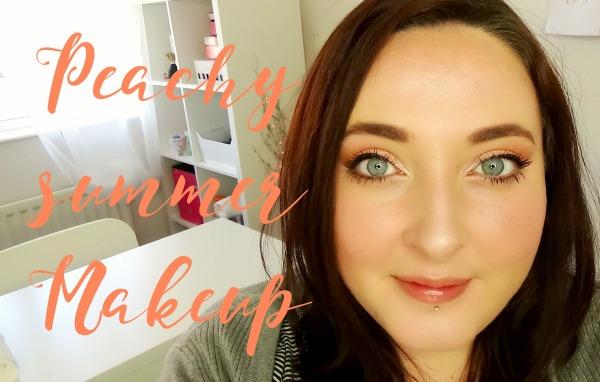 Peachy Summer Makeup