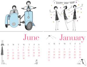 old calendars
