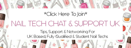 Nail Tech Chat & Support UK Blog Banner