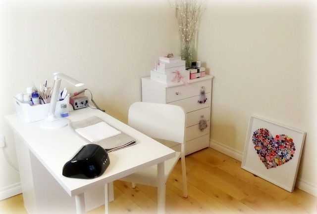 My nail room at home